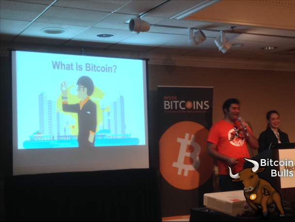 Stephanie Murphy and Jonathan Mohan explain bitcoin to beginners.
