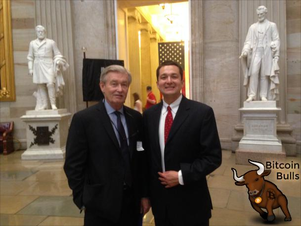 Bob Anderson and David Smith touring Capitol Hill