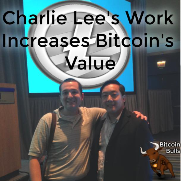 Charlie Lee's Work Increases Bitcoin's Value