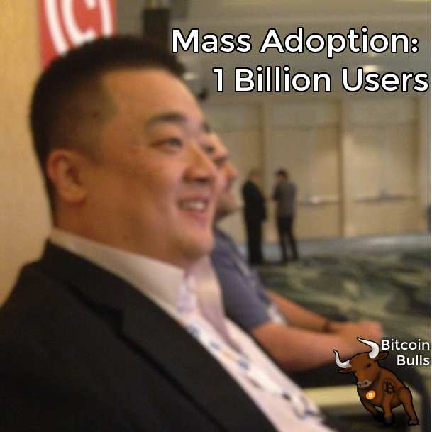 Coin Congress Bitcoin mass adoption 1 billion users