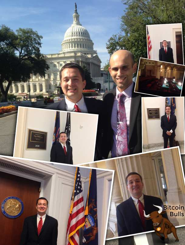 David Smith visiting congressional offices