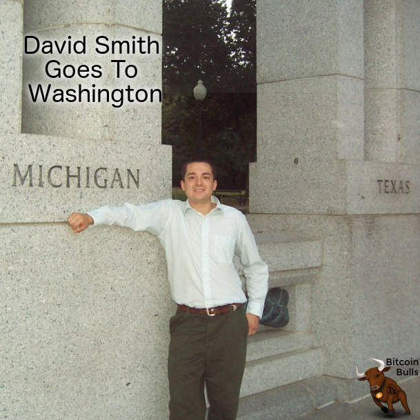 David Smith goes to washington