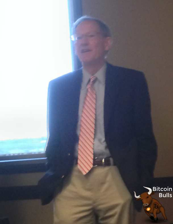 George Gilder explains bitcoin and gold.