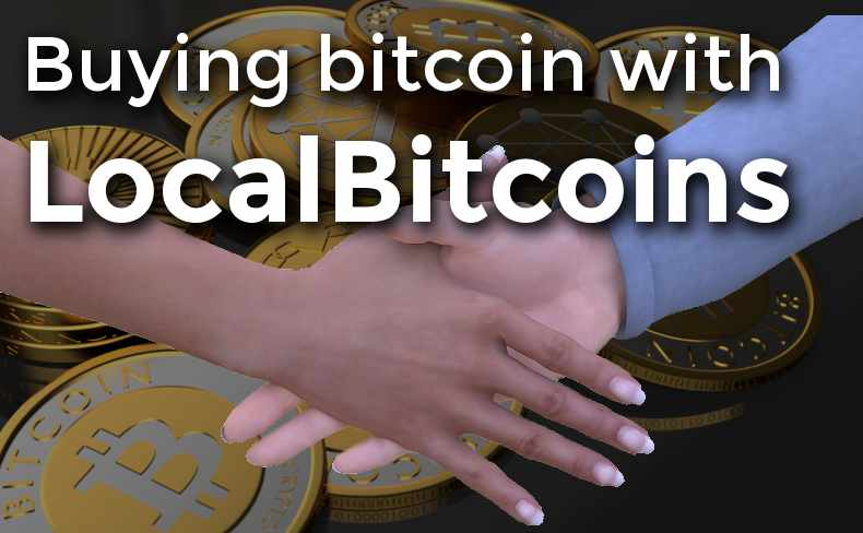 How to buy bitcoin with LocalBitcoins