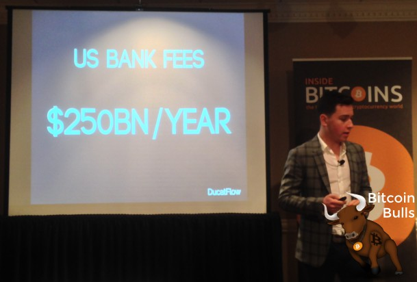 Raphael Paulin Daigle says banks make $250 billion in annual fees.